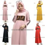 Baju Hijab Modis Fendi Dress Vol 2