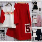 Baju Hijab Murah Five Set