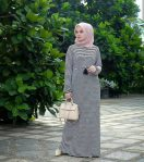 Baju Muslim Modern Basic Dress