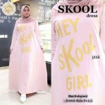 Baju Muslim Modis Skool Dress