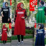 Busana Muslim Modern Dream long Tunik