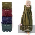 Jual Baju Muslim Wing Dress