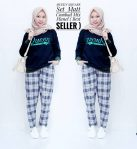 Baju Hijab Modis Queen Square Set