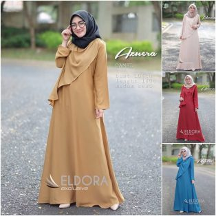 Baju Muslim Modis Azuera Dress