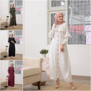 Busana Muslim Modern Lanira Dress