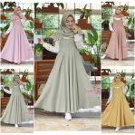 Busana Hijab Murah Cilla Dress Set