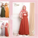 Busana Hijab Murah Froggy Dress