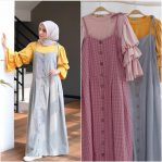 Busana Muslim Modis Nadya Set 2in1