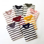 Busana Muslim Modis Stripy Sweater