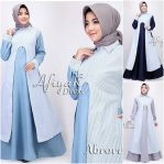 Grosir Busana Muslim Afiyah Dress