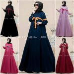 Grosir Busana Muslim Korean Dress
