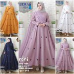 Jual Baju Hijab Monthi Dress