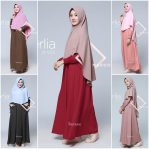 Grosir Baju Hijab Cerlia Dress Set