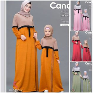 Baju Hijab Modern Candice Mom Kids
