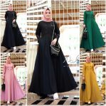 Baju Hijab Modern Quila Dress