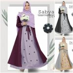 Baju Hijab Modern Sabyan Dress