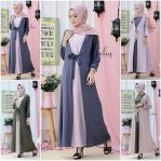 Baju Hijab Modis Nowela Dress