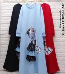 Baju Hijab Murah Alisa Dress