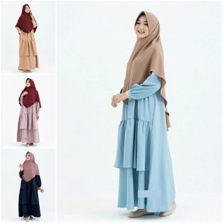 Grosir Baju Murah Stacia Dress Set