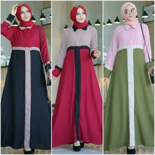 Pakaian Hijab Murah Marlon Dress