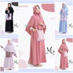 Baju Hijab Modern Mashel Dress Set