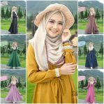 Baju Hijab Murah Salma Dress