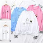 Grosir Baju Muslim Online Cat Party Sweater