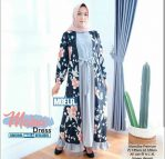 Baju Hijab Modern Maina Dress