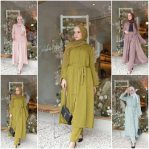 Baju Hijab Murah Geby Set 2in1