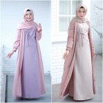 Baju Muslim Modern Ayura Dress 2in1