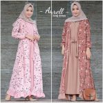 Jual Baju Muslim Aurel Long Dress