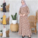 Jual Baju Muslim Flory Dress