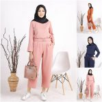 Jual Baju Muslim Lady Set 2in1