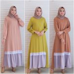 Baju Hijab Modern Silmi Dress