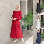 Baju Hijab Modis Volkana Dress