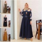 Baju Hijab Terbaru Lady Dress ML