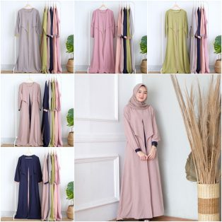 Baju Muslim Modern April Dress