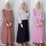 Baju Muslim Modern Lateefa Dress