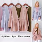 Baju Muslim Modis Louna Top