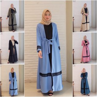 Baju Muslim Modis Mersya Dress