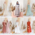 Busana Hijab Murah Risda Dress