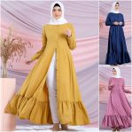 Busana Muslim Murah Febriya Dress Vol 2