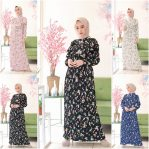 Busana Muslim Murah Haifa Dress Ml