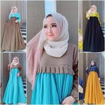 Grosir Baju Muslim Online Barbie Dress