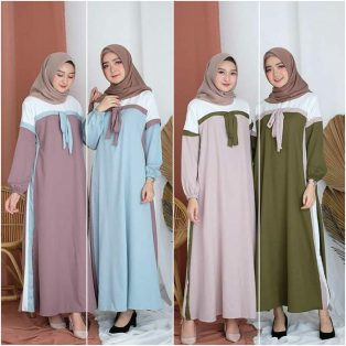 Jual Baju Muslim Afifa Dress