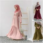 Baju Hijab Modern Alda Dress