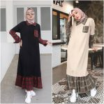 Baju Hijab Modern Furha Dress