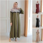 Baju Hijab Modis Viola Dress