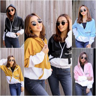 Baju Hijab Murah Birthday Jacket