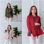 Busana Hijab Murah Fake Ring Blouse